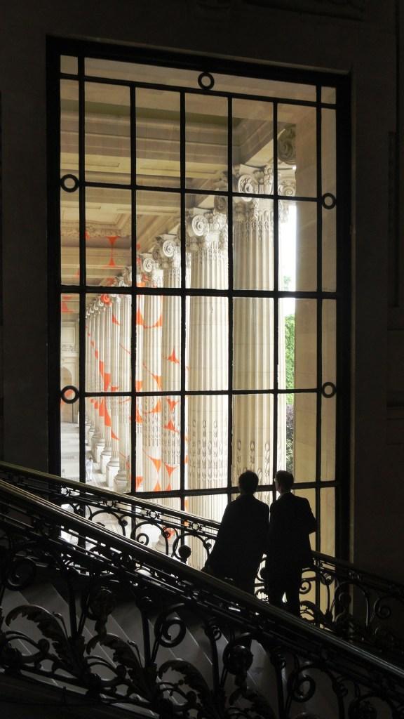 Exposition DYNAMO au Grand Palais - Fenêtre