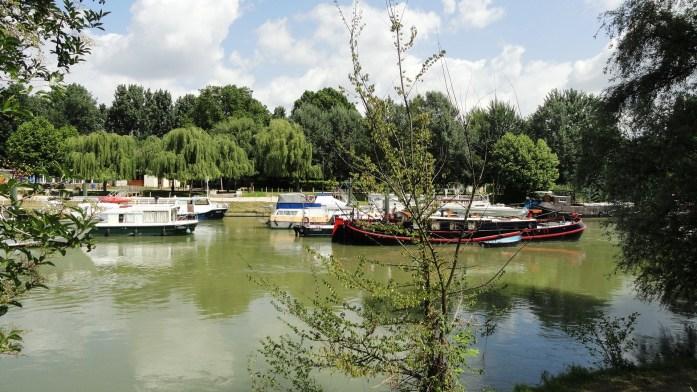 La Marne - Péniches