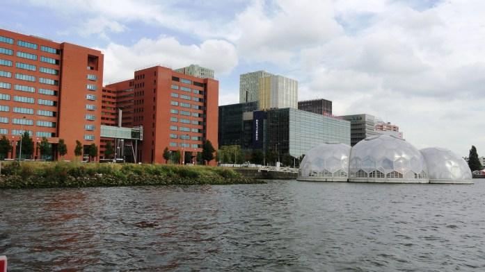 Rotterdam - Les pavillons flottants (Drijven Paviljoen)