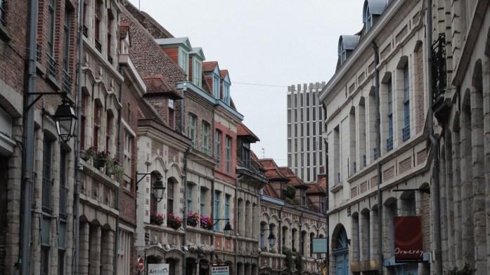 Vieux Lille - Rue des Vieux Murs