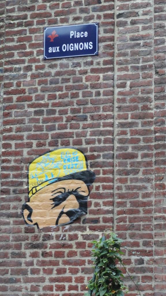 Vieux Lille - Place aux Oignons - Street art