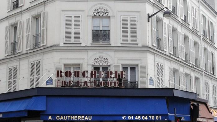 Boucherie de la Tour - Rue de la Tour, Paris 16e