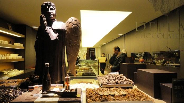 Bruges - Vitrine chocolatier