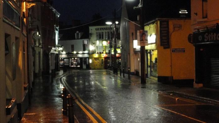 Galway, La nuit