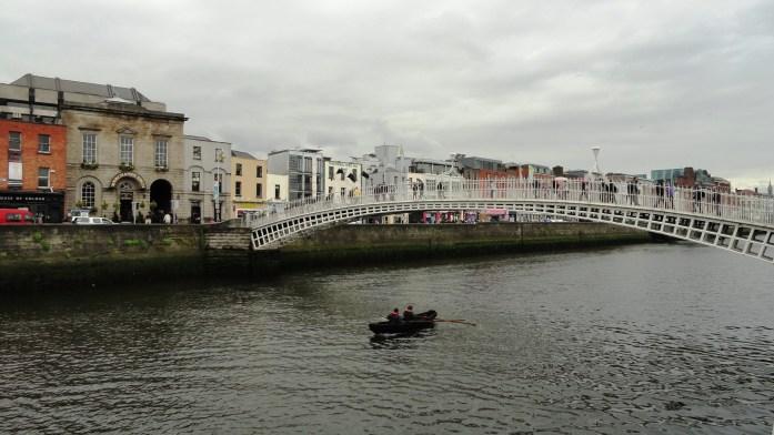 Dublin - Balade le long de la Liffey - Docklands