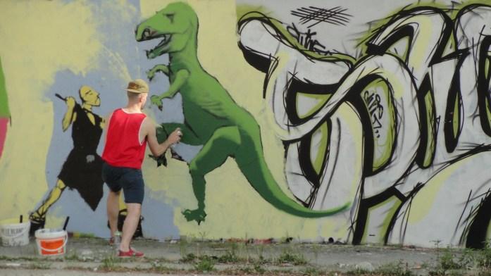 Canal de l'Ourcq - Pantin - Graffeurs
