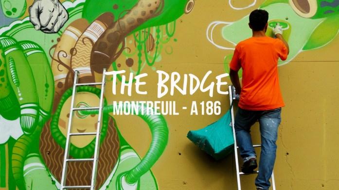 street art autoroute A186