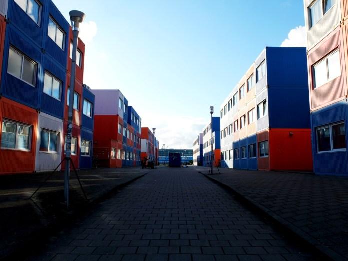 Amsterdam - NDSM Werf - Résidence étudiante