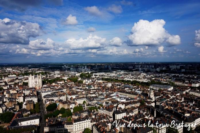 Un weekend à Nantes - Tour Bretagne - Le Nid - La vue