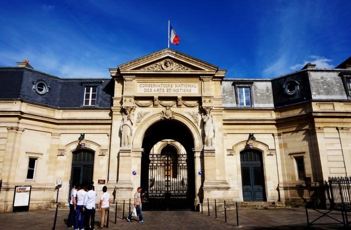 Balade dans le quartier Arts et Métier (3e) - Musée des Arts et Métiers