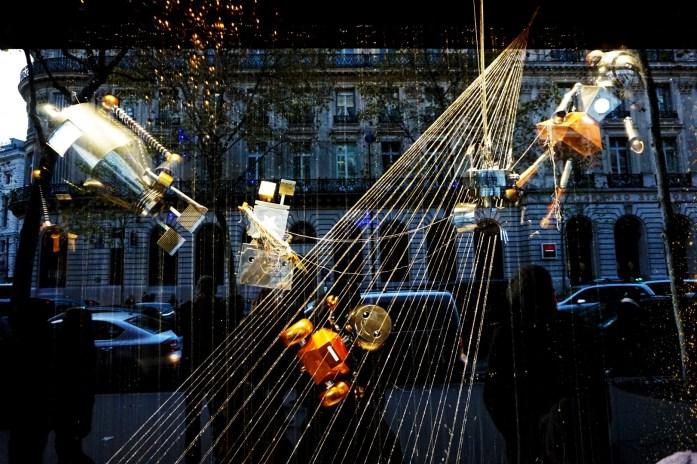 Noël à Paris - Vitrine des Galeries Lafayette 2015