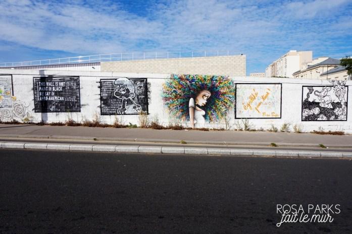 Rosa Parks fait le mur - Paris