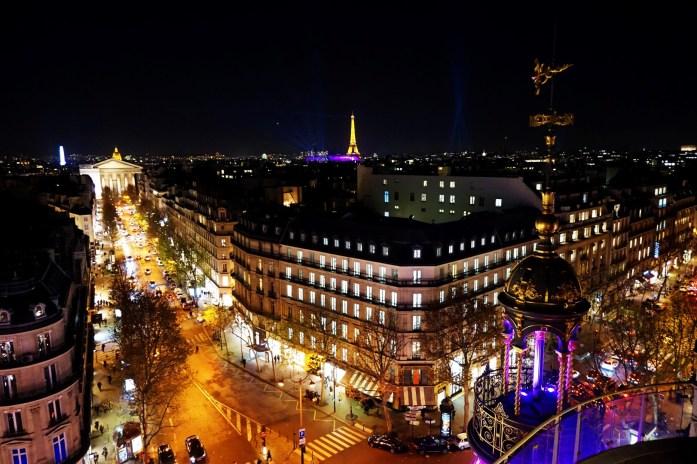 Vue de Paris depuis le Printemps