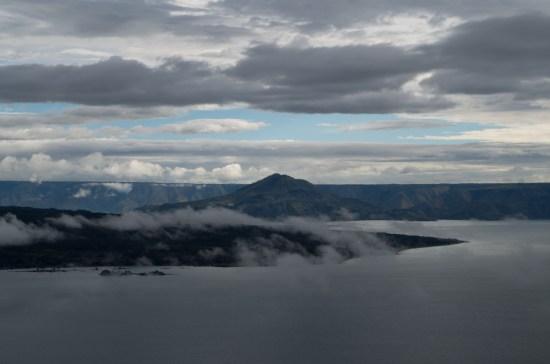 Lac Toba, au large de Samosir