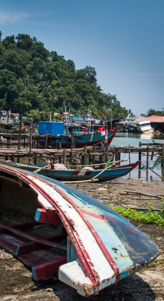 Padang, ville de pêcheurs