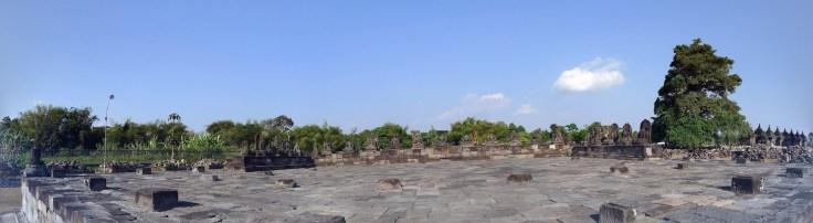 Candi Plaosan - panorama