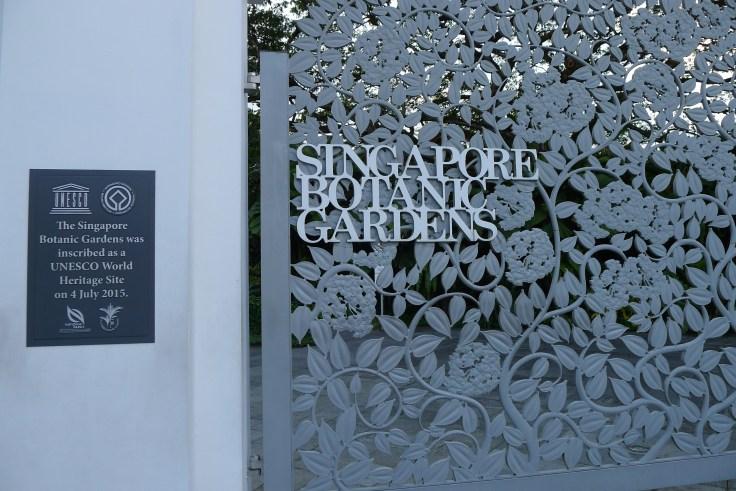 Singapore Botanic Gardens - inscrits au Patrimoine mondial de l'UNESCO