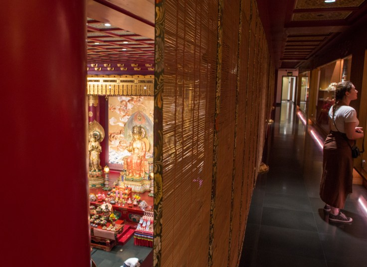 Buddha Tooth Relic temple - 1er étage