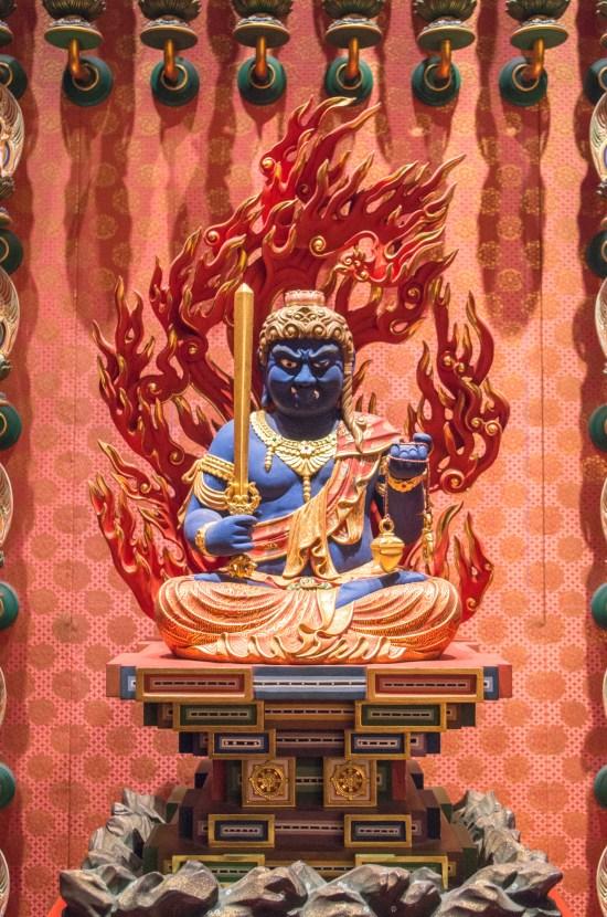 Des bouddhas là (Acala Vidyaraja)