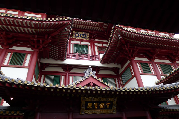 Buddha Tooth Relic temple - Extérieur