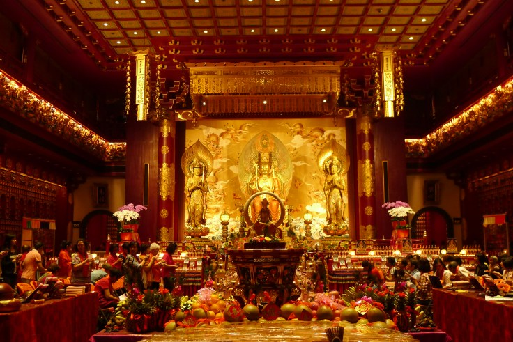Buddha Tooth Relic temple - Salle principale