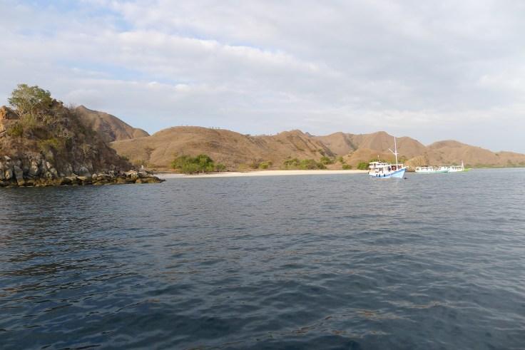 Pink Beach sur Komodo Island