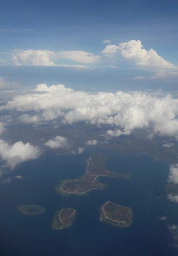 L'Indonésie vue du ciel