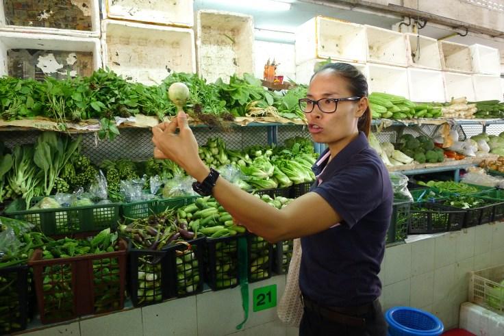 Une petite aubergine, que l'on peut retrouver dans le green curry.