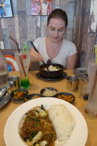 Déjeuner coréen !