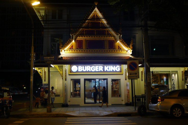 Stylé le Burger King !