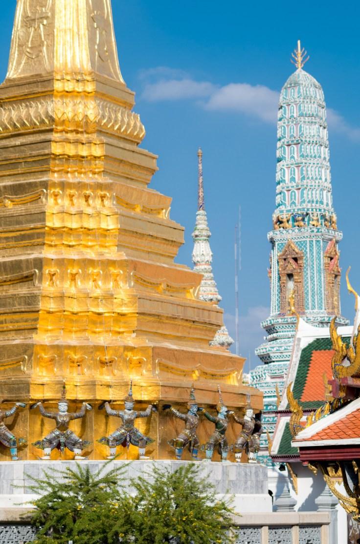 Royale Palace - Stupas