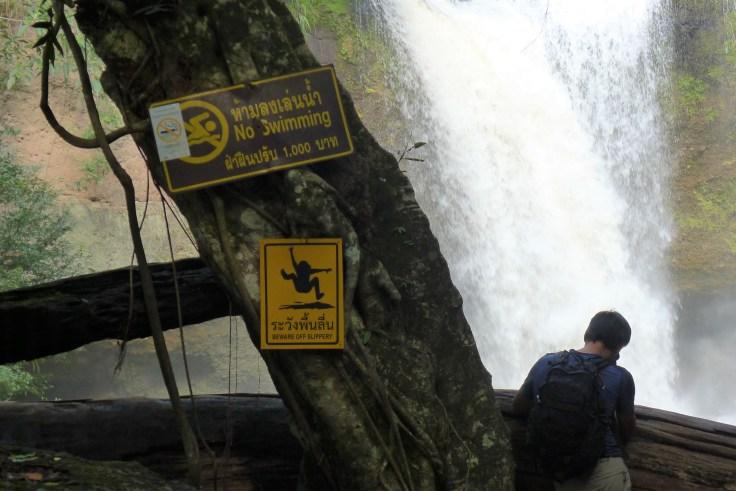 Khao Yai Haew Suwat Waterfall Danger