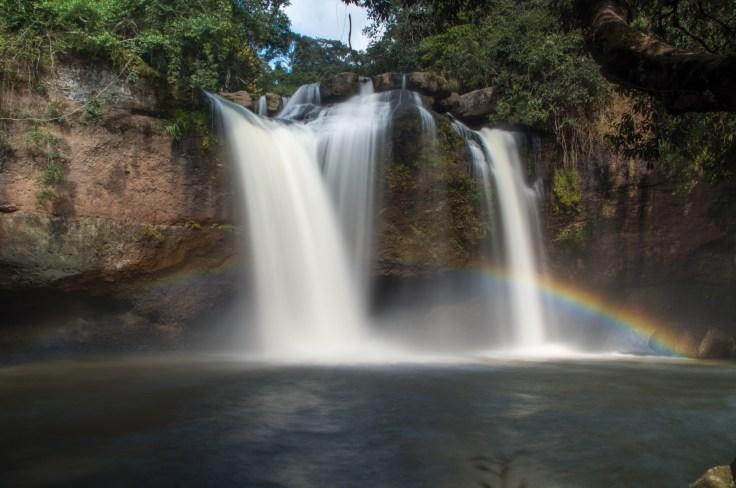 Khao Yai Haew Suwat Waterfall Rainbow