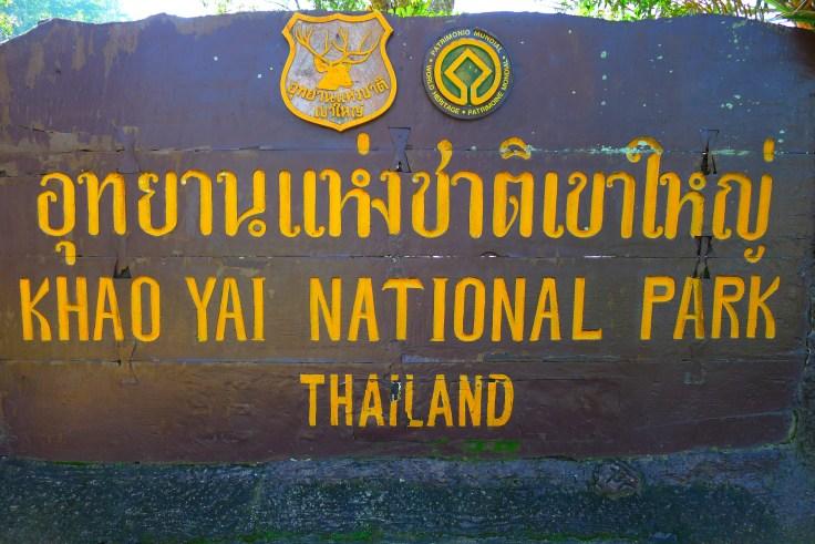 Khao Yai Sign