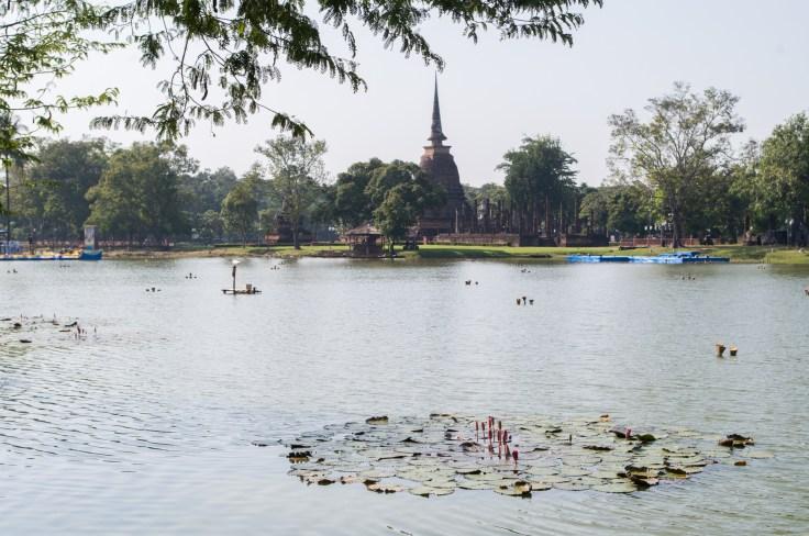 Sukhothai Wat Sa Si lac