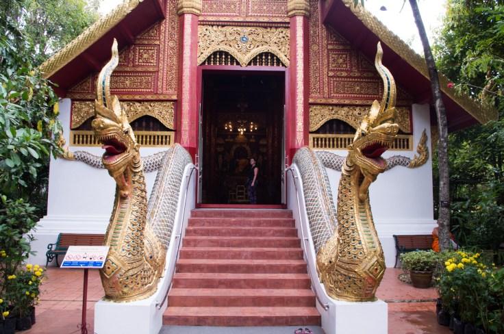 Chiang Rai Wat Phra Kaew Outside