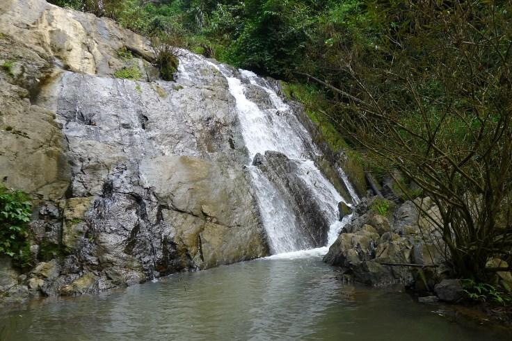 Laos Luang Namtha - waterfall