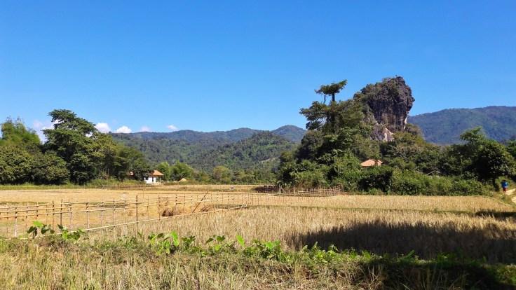 Laos - Vang Vieng - landscape