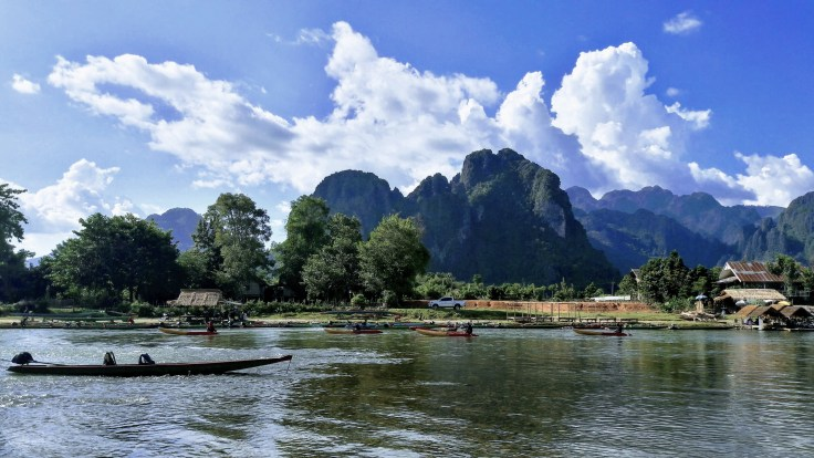Laos - Vang Vieng - Panorama