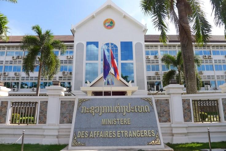 Laos - Vientiane - Ministère