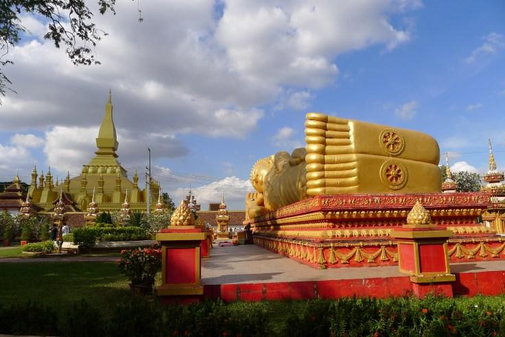 Laos - Vientiane - Pha That Luang
