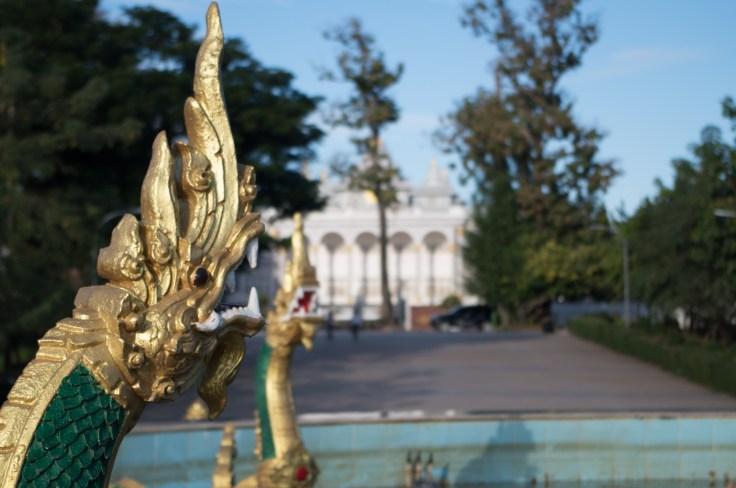 Laos - Vientiane - Sethathirath - Naga