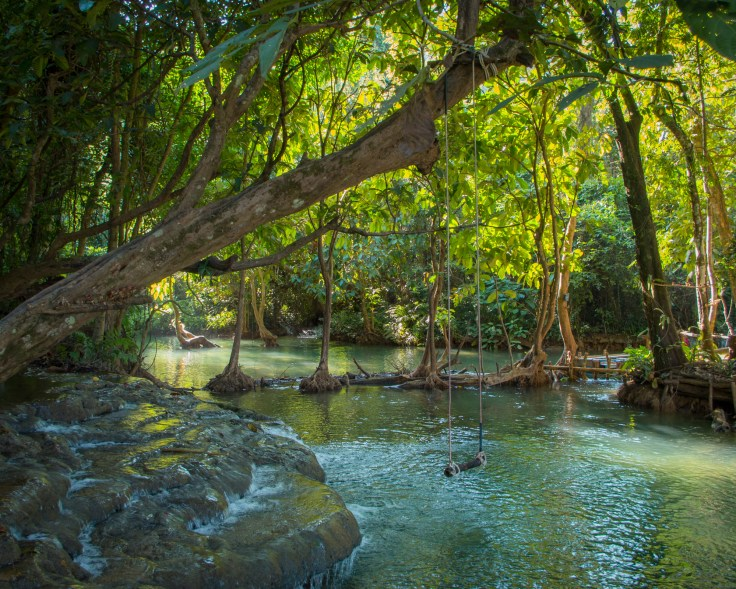Luang Prabang - Kuang Si Falls Top