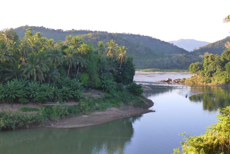 Luang Prabang - Mekong Nam Khan River
