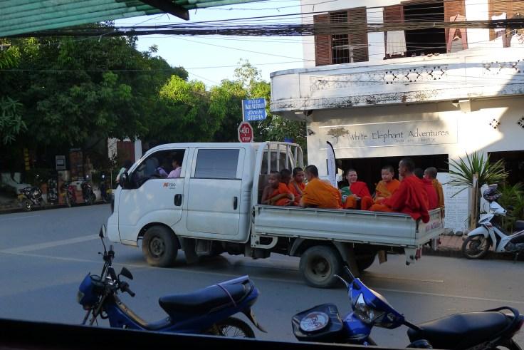 Luang Prabang - Monks
