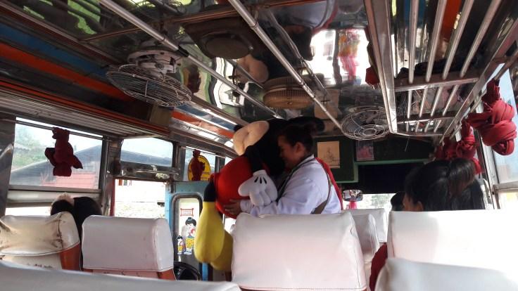 Thailand Laos Boarders Bus