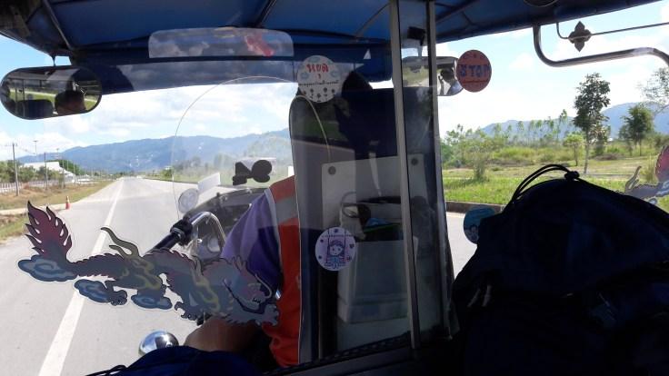 Thailand Laos Boarders Tuk tuk