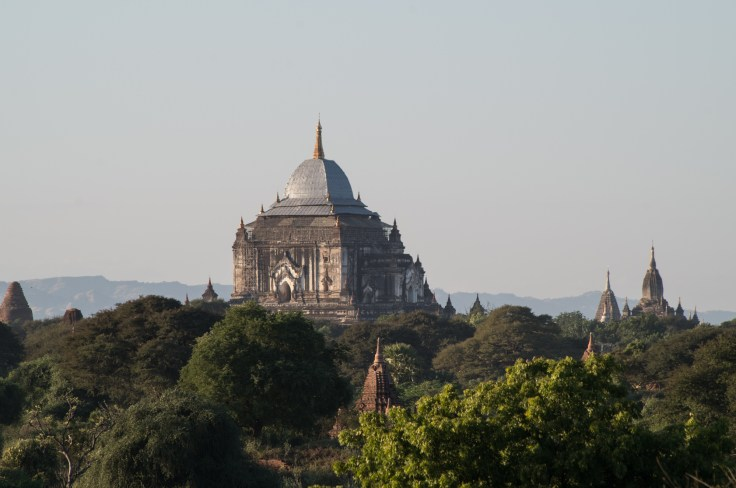 Bagan - Sunset Myauk Guni