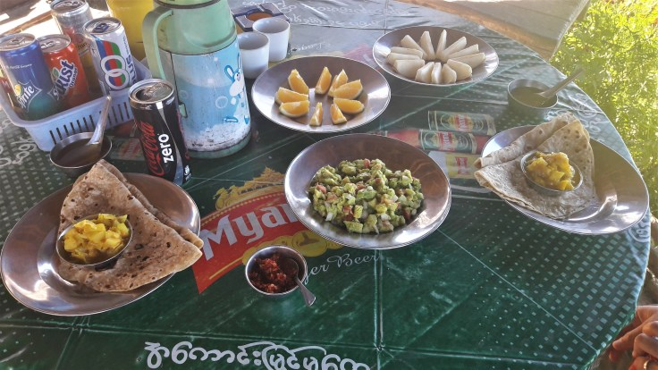 Kalaw - Repas népalais