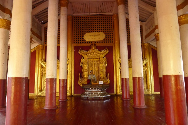 Myanmar - Mandalay - Palais Royal